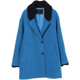 【6,000円(税込)以上のお買物で全国送料無料。】P.リブカラージャケットコート