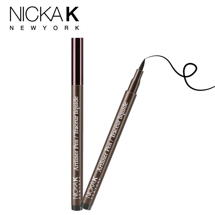 美國NICKA K雅緻奢華系列持久眼線液筆【50絕色黑】