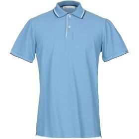 《セール開催中》PEUTEREY メンズ ポロシャツ スカイブルー S コットン 100% / ポリエステル