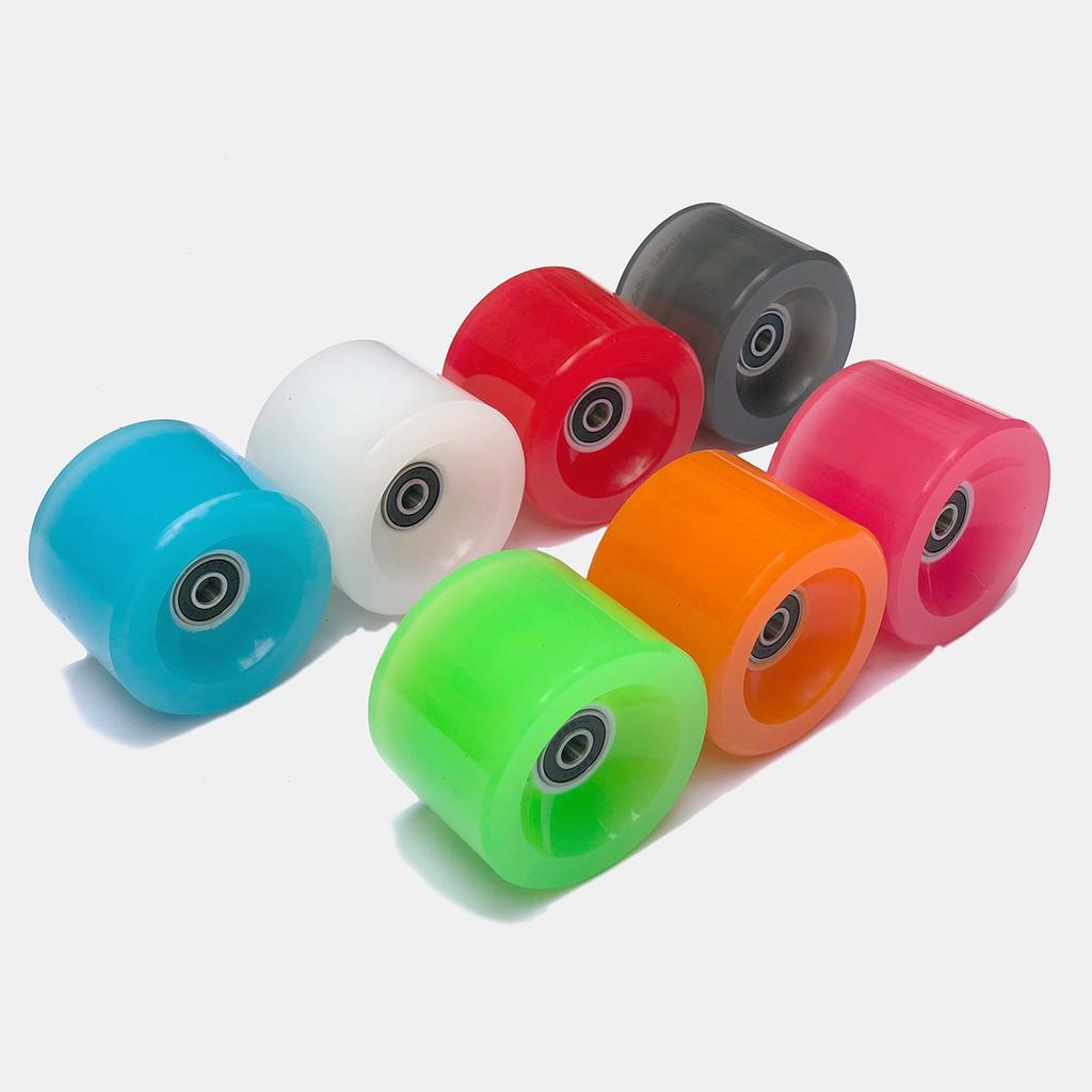 滑板專用超亮發光輪 多色可選 一組2入 免電池