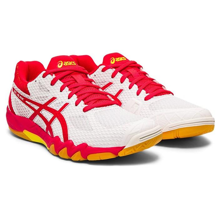 ASICS 19FW 高階 女羽球鞋 BLADE 7系列 1072A032-100 贈運動襪【樂買網】
