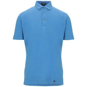 《セール開催中》DRUMOHR メンズ ポロシャツ パステルブルー XS コットン 100%