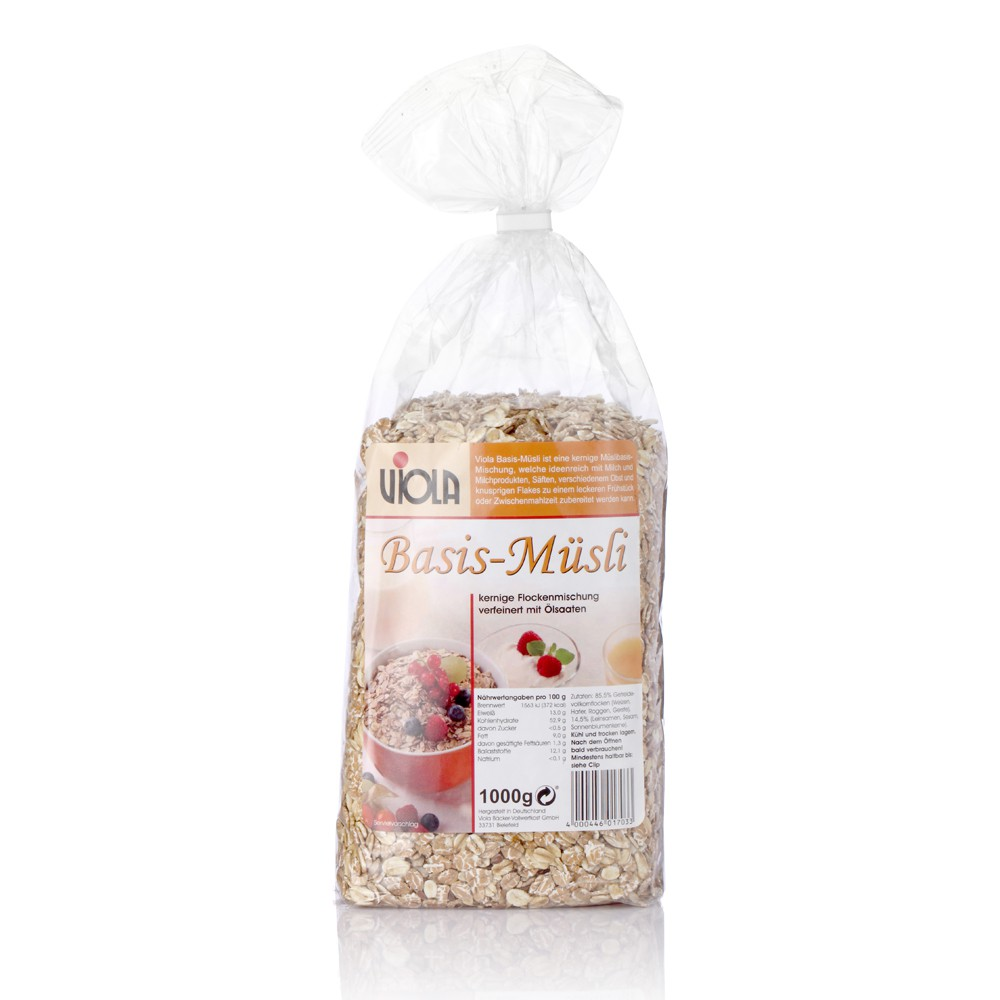 VIOLA 麥維樂 德國原味穀片(1000g)