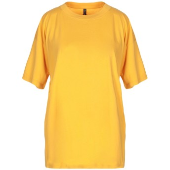 《セール開催中》MANILA GRACE レディース T シャツ イエロー 0 コットン 100%