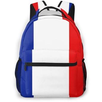 リュック バック フランス国旗, リュックサック ビジネスリュック メンズ レディース カジュアル 男女兼用大容量 通学 旅行 鞄 カバン