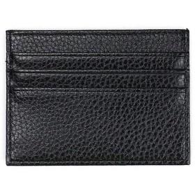 メンズバッグ ファッションレトロメンズレザークラッチバッグクレジットカードの文字スリム財布メンズ財布旅行レジャーショッピング 大容量 バッグ (Color : Black, Size : S)