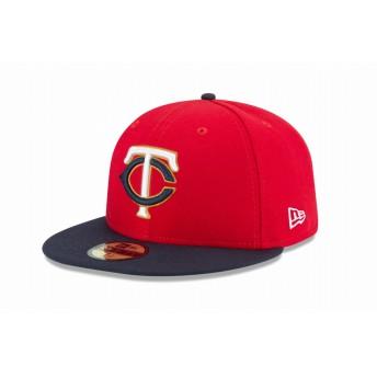 NEW ERA ニューエラ 59FIFTY MLBオンフィールド ミネソタ・ツインズ オルタネイト2 ベースボールキャップ キャップ 帽子 メンズ レディース 7 (55.8cm) 11449359 NEWERA