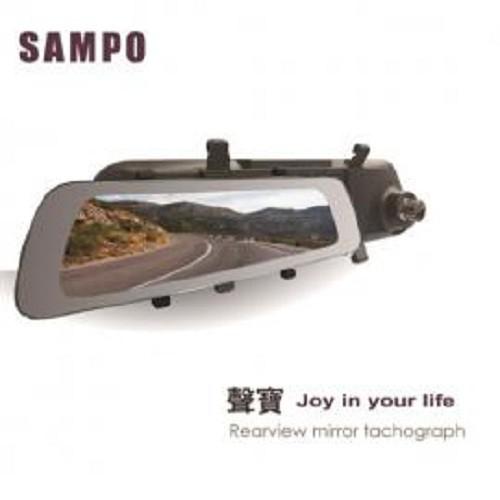 SAMPO 聲寶 MD-S25S 雙錄+GPS測速 行車紀錄器 10吋全觸控IPS大螢幕 2K畫質 雙SONY感光元件