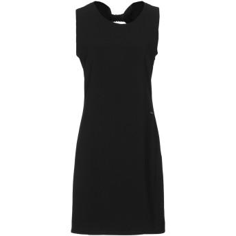 《セール開催中》MAISON ESPIN レディース ミニワンピース&ドレス ブラック XS ポリエステル 95% / ポリウレタン 5%