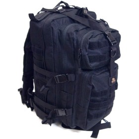 ストームクロス (STORMCROS) アサルトバッグ リュックサック リュック 25㍑ 登山 自衛隊 ミリタリー ビジネス バッグ (ブラック) 1131