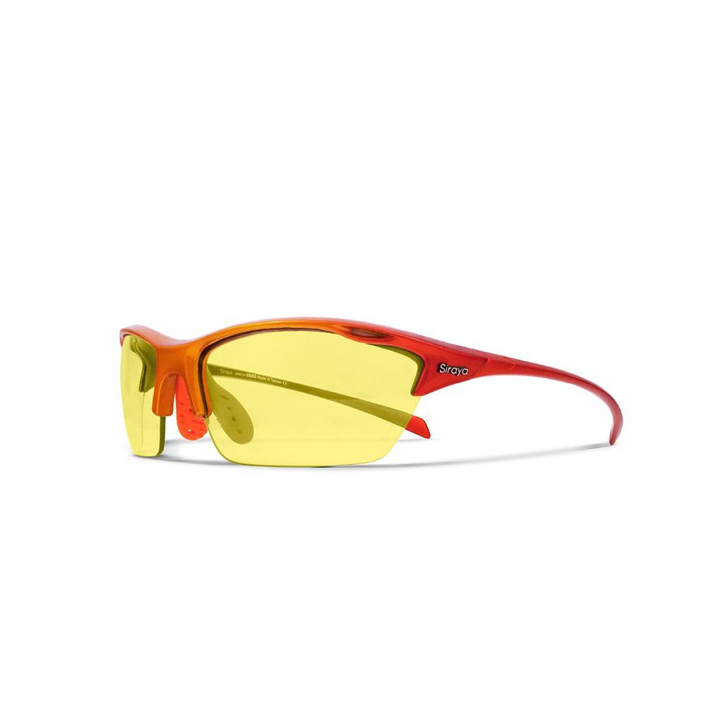 Siraya ALPHA運動太陽眼鏡 戶外腳踏車 登山系列 黃色鏡片 抗UV 戶外 防紫外線 德國蔡司