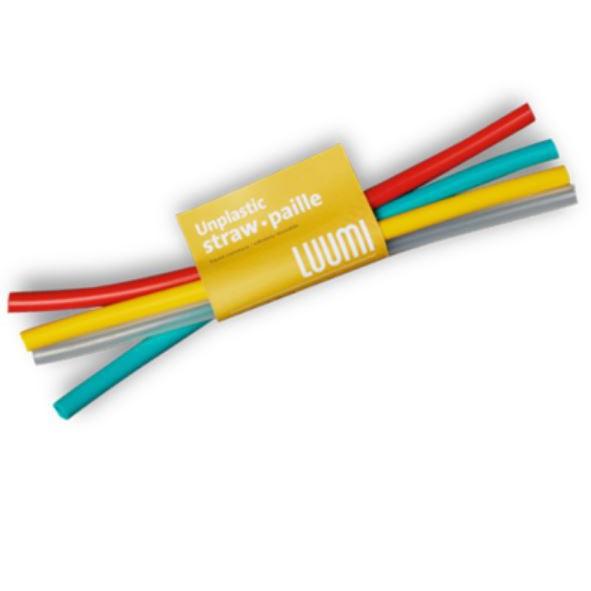 LUUMI Straws 矽膠吸管組 LUM-0600 環保吸管 軟性吸管 環境友善 非一次性