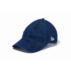 NEW ERA ニューエラ 9TWENTY クロスストラップ ベーシック インディゴデニム アジャスタブル サイズ調整可能 ローキャップ ベースボールキャップ 無地 キャップ 帽子 メンズ レディース 56.8 - 60.6cm 12019003 NEWERA