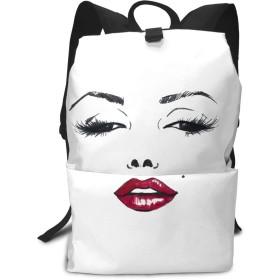 Marilyn Monroe マリリン・モンロー リュック バックパック リュックサック ビジネスリュック メンズ レディース カジュアル 男女兼用 軽量 大容量 通勤 通学 旅行 鞄 バッグ カバン