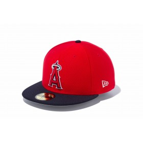 NEW ERA ニューエラ 59FIFTY MLB オンフィールド バッティング・プラクティス ロサンゼルス・エンゼルス ゲーム ベースボールキャップ キャップ 帽子 メンズ レディース 7 (55.8cm) 11449402 NEWERA