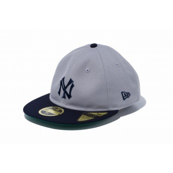 NEW ERA ニューエラ RC 59FIFTY ニューヨーク・ヤンキースCT グレー × ネイビー ネイビーバイザー ベースボールキャップ キャップ 帽子 メンズ レディース 7 (55.8cm) 12018894 NEWERA