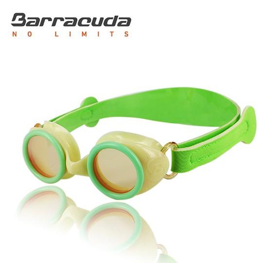 美國 Barracuda 巴洛酷達 游泳訓練 舒適 2-6歲 幼童抗UV防霧泳鏡 WIZARD MINI #90455