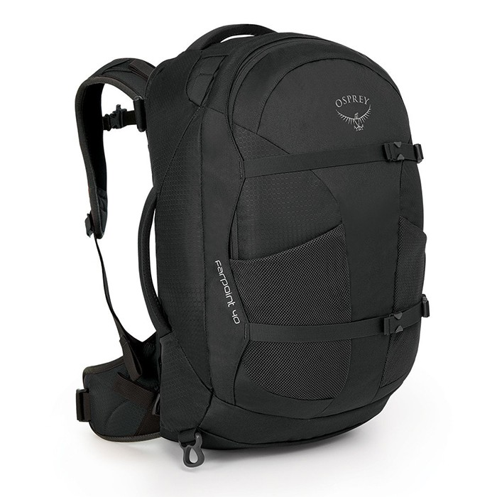 【Osprey 美國】Farpoint 40 自助旅行背包 多功能自助行背包 火山灰 (Farpoint40)