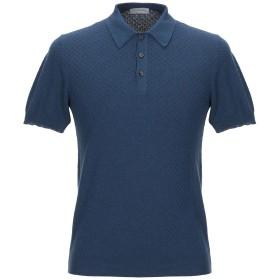 《セール開催中》GRAN SASSO メンズ プルオーバー ブルー 48 コットン 100%