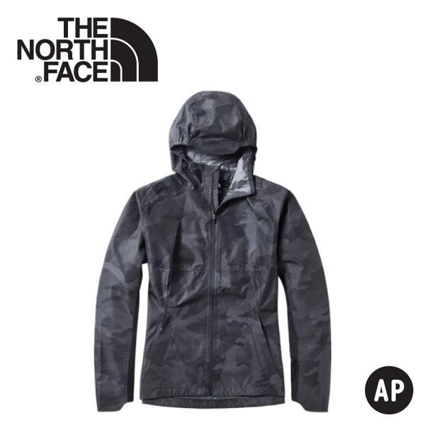 【The North Face 男 防水外套《迷彩印花》】3YVE/防水外套/衝鋒衣/防風外套/保暖外套/防風/悠遊山水