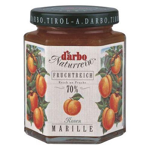 D'arbo 德寶 70% 果肉天然杏桃果醬 200g