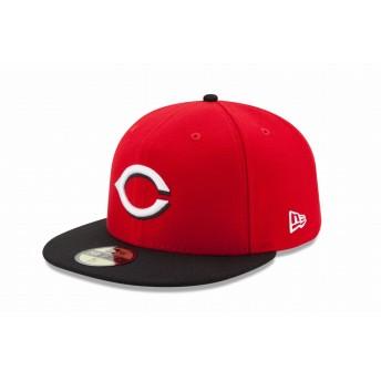 NEW ERA ニューエラ 59FIFTY MLBオンフィールド シンシナティ・レッズ ロード ベースボールキャップ キャップ 帽子 メンズ レディース 7 (55.8cm) 11449383 NEWERA