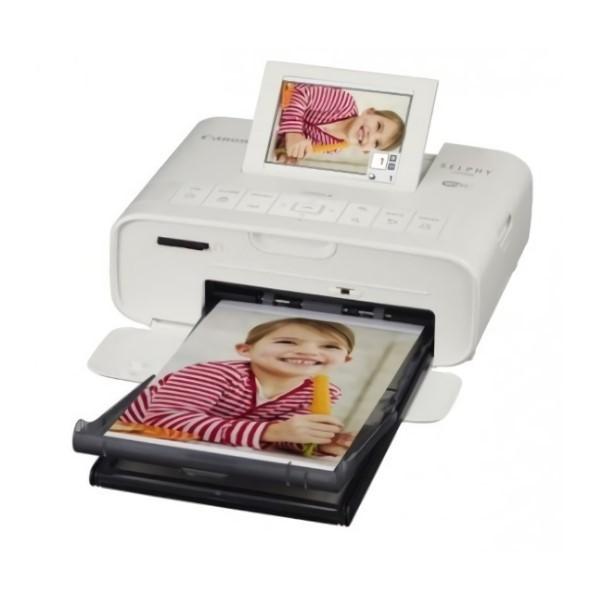 CANON SELPHY CP1300 白色 行動相片印表機 內含54張相紙 [台灣佳能公司貨]
