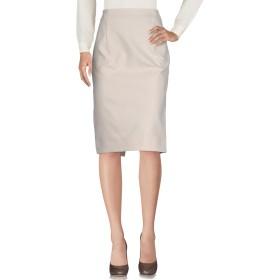《セール開催中》JIL SANDER レディース 7分丈スカート ベージュ 42 コットン 85% / モヘヤ 15%