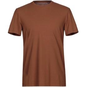 《セール開催中》ALTEA メンズ T シャツ ブラウン S コットン 100%