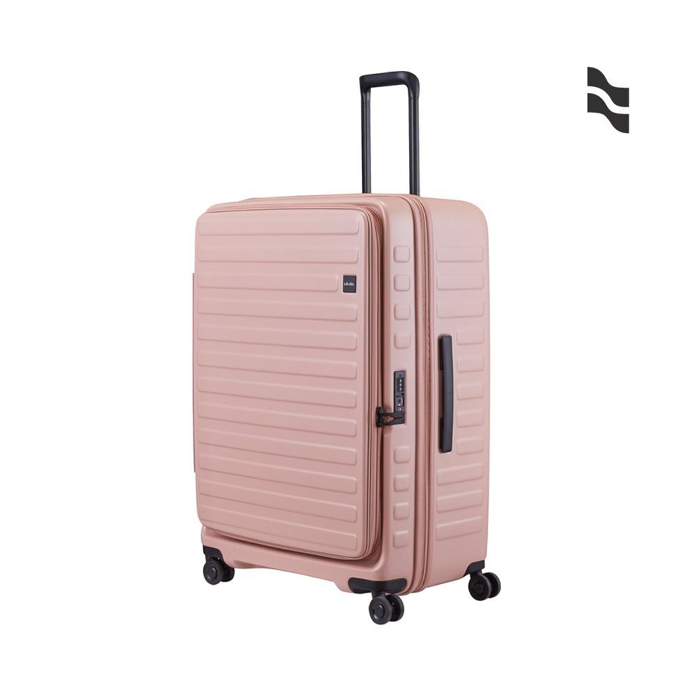 LOJEL CUBO 30吋行李箱 粉紅色【五福居家生活館】上掀蓋擴充行李箱