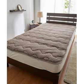 ラビット調ファー敷きパッド 敷きパッド・ベッドパッド, Bed pats, 床套