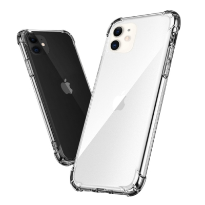 iPhone11 全包覆抗震空壓透明保護殼