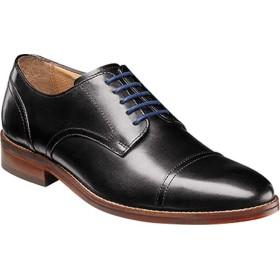[フローシャイム] シューズ オックスフォード Salerno Cap Toe Oxford Black Leat メンズ [並行輸入品]