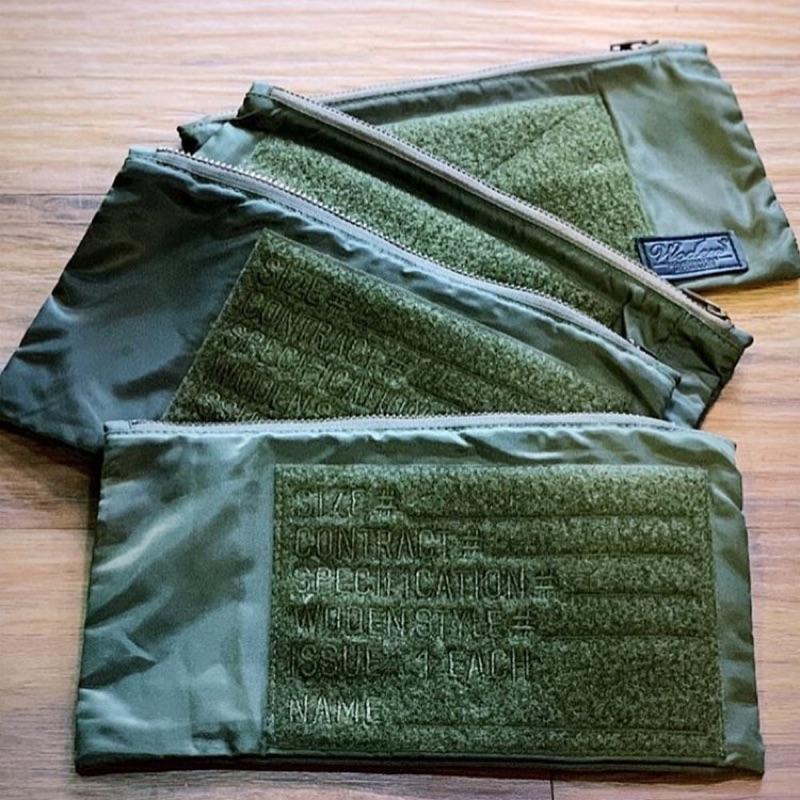 Woden 軍系收納手拿小包