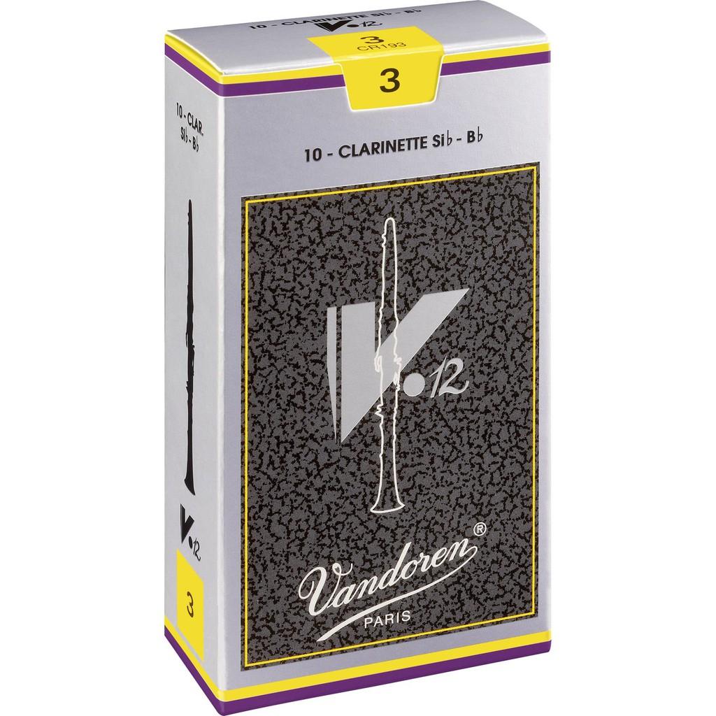 Vandoren簧片V12銀盒 CLARINET REED 黑管 豎笛 單簧管 竹片 - 【黃石樂器】
