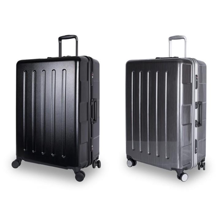 CROWN C-FD133 27吋行李箱-黑色【旅遊補給】 正方大容量拉桿箱