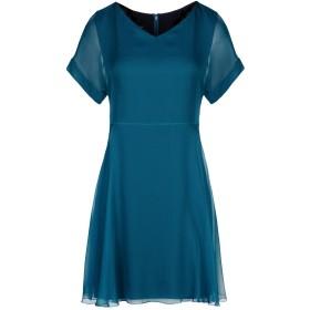 《セール開催中》EMPORIO ARMANI レディース ミニワンピース&ドレス ディープジェード 38 シルク 100%
