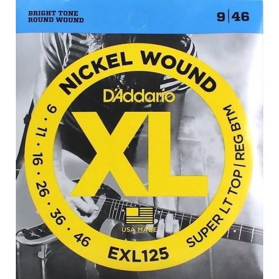 Daddario EXL125 (.009-.046)防潮包裝電吉他弦[唐尼樂器]
