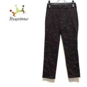 ソニアリキエル パンツ サイズ32 XS レディース 美品 - - ダークブラウン フルレングス   スペシャル特価 20200121
