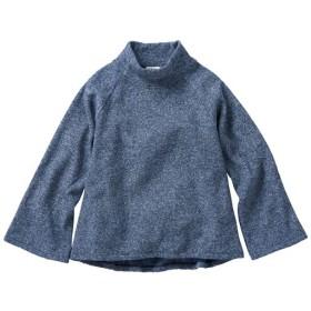 49%OFF【レディース大きいサイズ】 やわらか裏起毛オフタートルプルオーバー ■カラー:ネイビーブルー ■サイズ:L,LL,3L,4L,5L