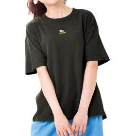 30%OFF【レディース】 ワッフルTシャツ(ディズニー) ■カラー:チャコールグレー ■サイズ:L,LL