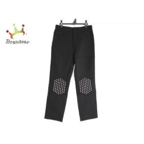 ジェイダブリューアンダーソン パンツ サイズ40 M レディース 美品 黒×シルバー スタッズ   スペシャル特価 20191128