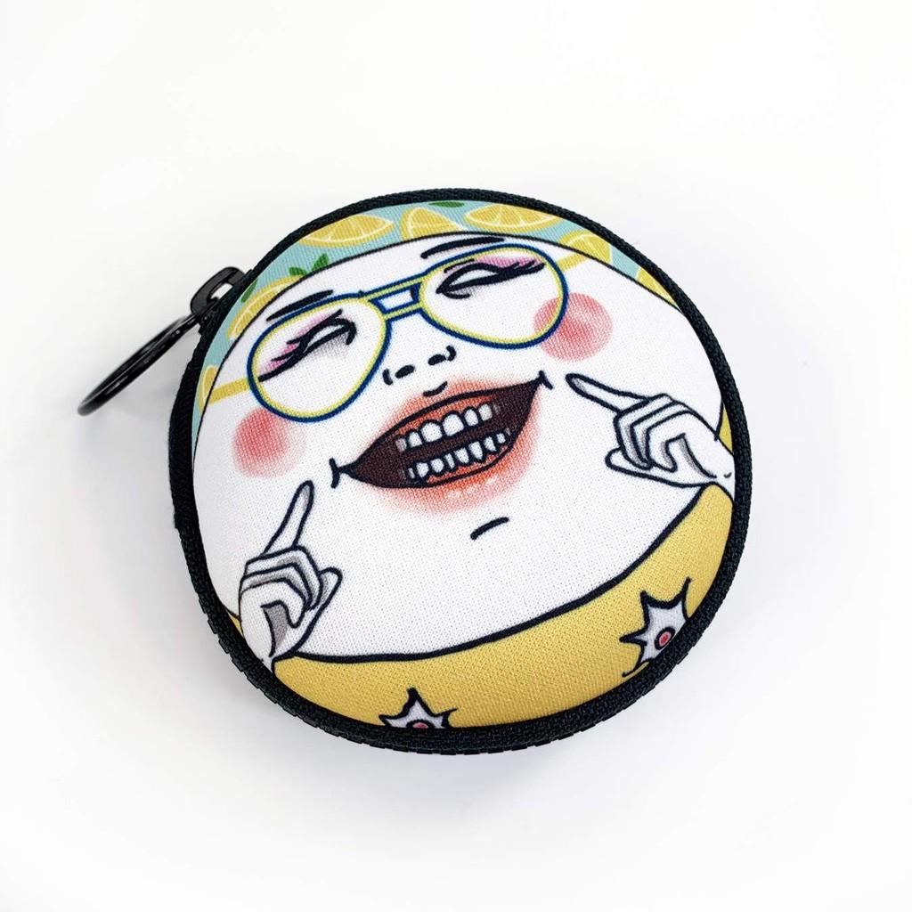 【Shock MAMA 蛋定人生】郝微笑 圓形零錢包