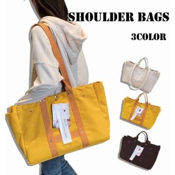 【クーポン使用可能】 韓国ファッション レディース バッグ キャンバスバッグ ショルダーバッグ メッセンジャーバッグ トートバッグ