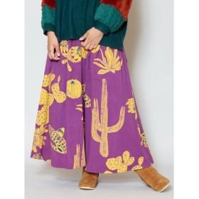 [マルイ]【セール】【チャイハネ】yul サボテンプリントロングスカート/チャイハネ(CAYHANE)