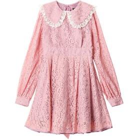 【SALE(三越)】<PAMEO POSE/パメオポーズ> Hecate Lace Dress ピンク【三越・伊勢丹/公式】