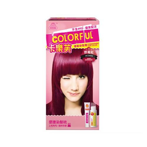 美吾髮卡樂芙染髮霜(野莓紅)50gm【寶雅】