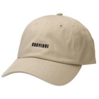 【オンワード】 Hat Homes(ハットホームズ) 【コンバース】 コンバースロゴ 6Pキャップ BEIGE 57~59cm レディース