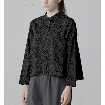 【マーコート/MARcourt】 mizuiro ind レオパードシャツ