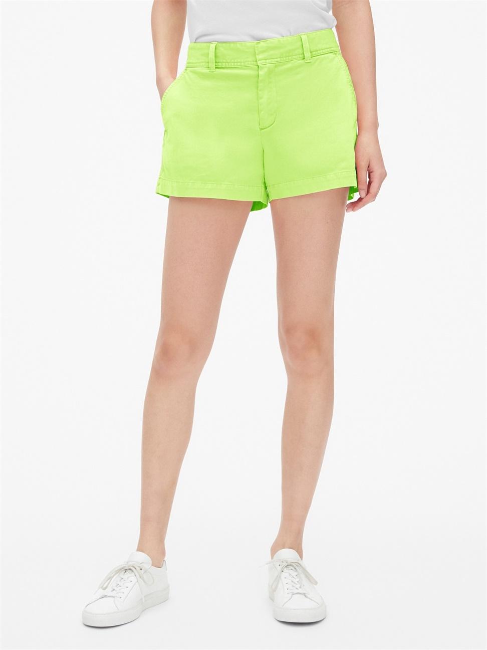 女裝 寬鬆都市風中腰短褲